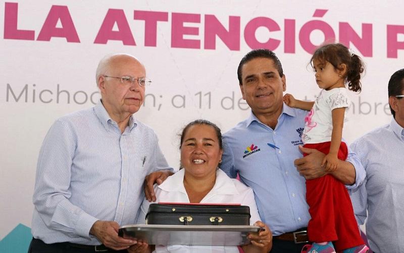 Reinstalan autoridades estatales y federales Red Michoacana de Municipios por la Salud