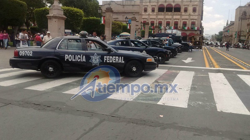 La Avenida Madera fue cerrada por ese motivo entre las 14:10 horas y las 16:00 horas