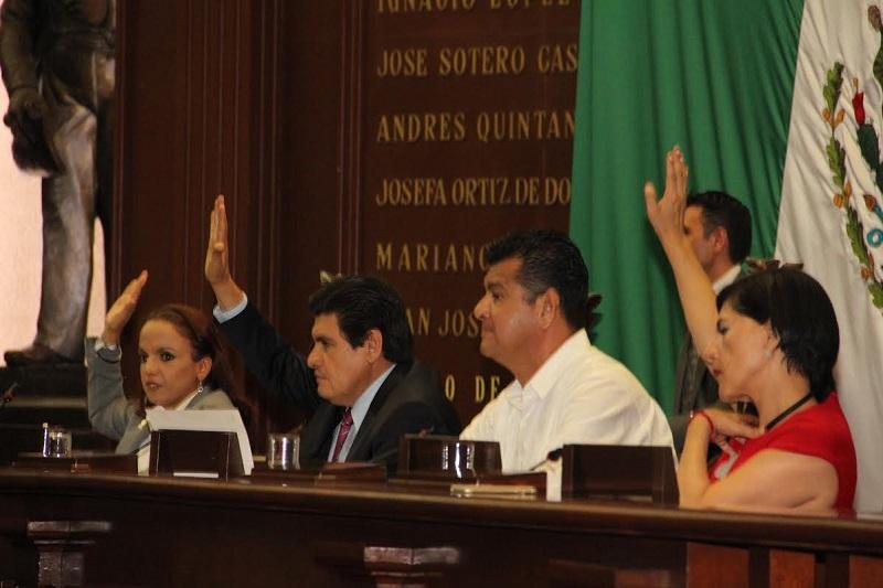 Diputados aprueban reforma a Ley Orgánica del Congreso del Estado