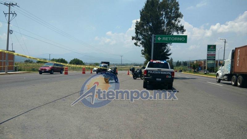 La víctima respondía al nombre de Eleazar R., de 40 años de edad, originario de Cuanajillo del Toro (FOTOS: FRANCISCO ALBERTO SOTOMAYOR)
