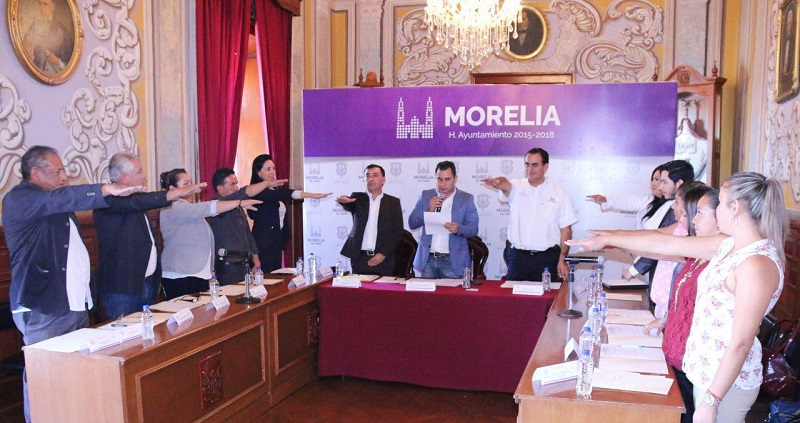 """Marín Chávez, recordó que con la instalación de este organismo se da cumplimiento a lo establecido en el artículo 5 de las Reglas de Operación del programa """"Becas Municipales"""""""