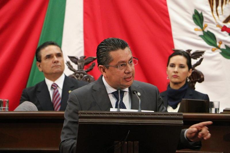García Chavira señaló que este Segundo Año Legislativo, Acción Nacional seguirá impulsando la derogación del impuesto al Alumbrado Público