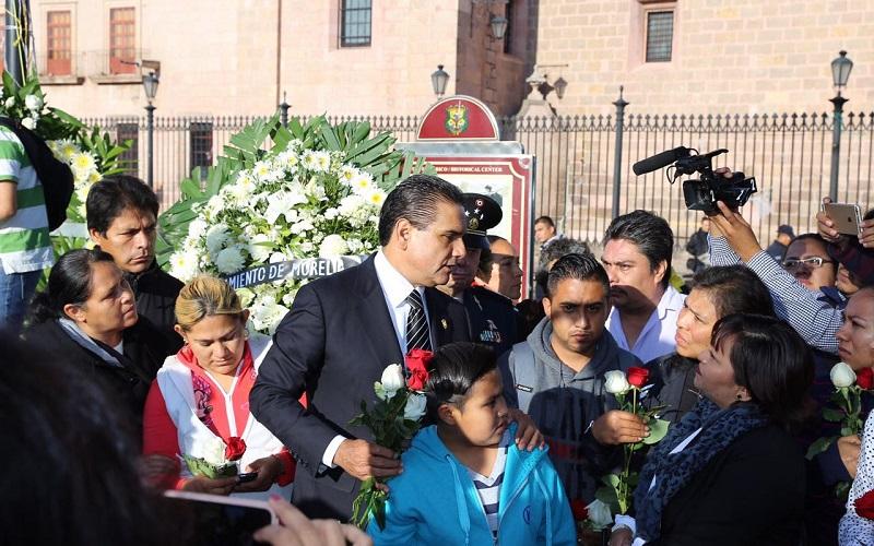 El mandatario Silvano Aureoles aseguró que los recibirá la próxima semana para revisar en lo particular cada caso