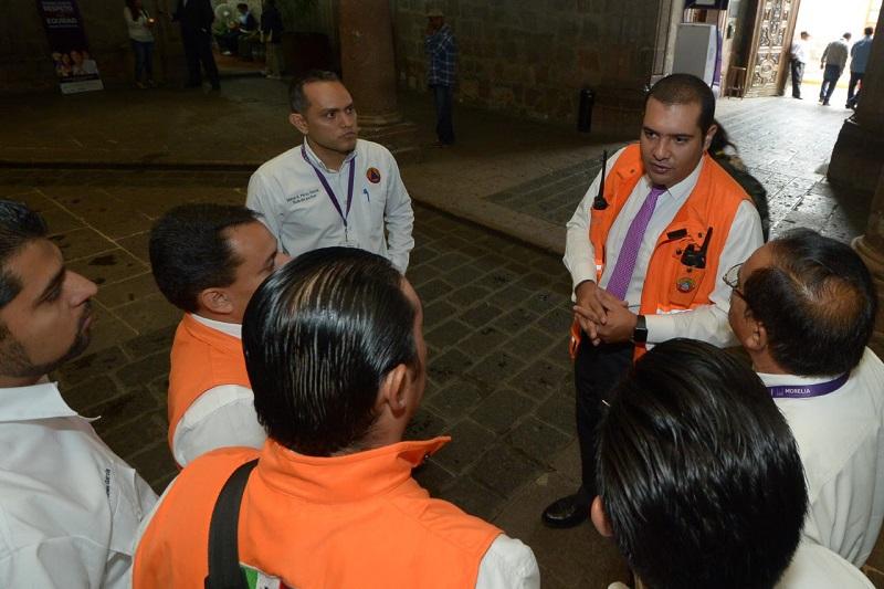Por segundo año consecutivo se realiza el simulacro para prevenir a la población en caso de terremotos