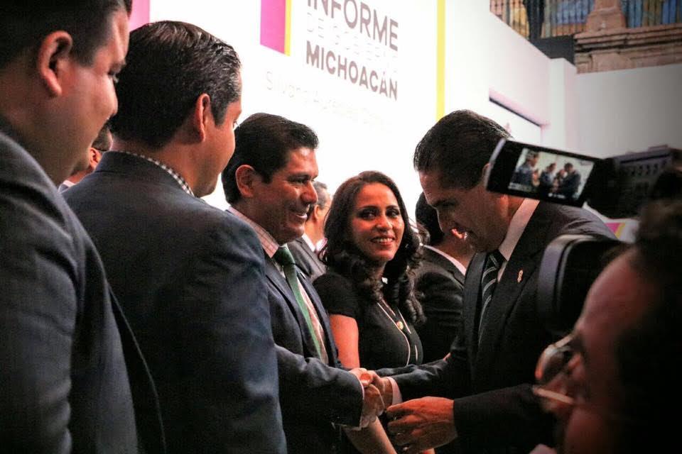 Núñez Aguilar reconoció los esfuerzos y el desempeño que ha realizado el gobernador Silvano Aureoles, por lo que dijo estar congratulado con los trabajos que se han hecho hasta el momento