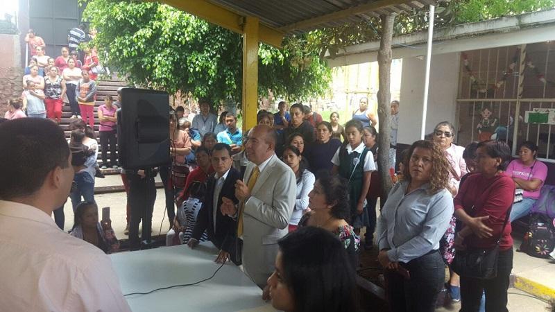 """La SEE condena los sucesos ocurridos en el plantel """"Víctor Hugo"""", ubicado en la comunidad Puerto de Buenavista, de la ciudad de Morelia, y coadyuva con la PGJE en las investigaciones por las denuncias de abuso sexual contra dos niñas"""