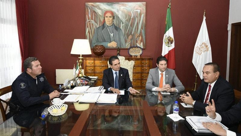 Desde agosto pasado los tres órdenes de gobierno trabajan de manera coordinada  en los municipios que por su incidencia delictiva requieren una mayor intervención de las fuerzas de seguridad, entre ellos Morelia