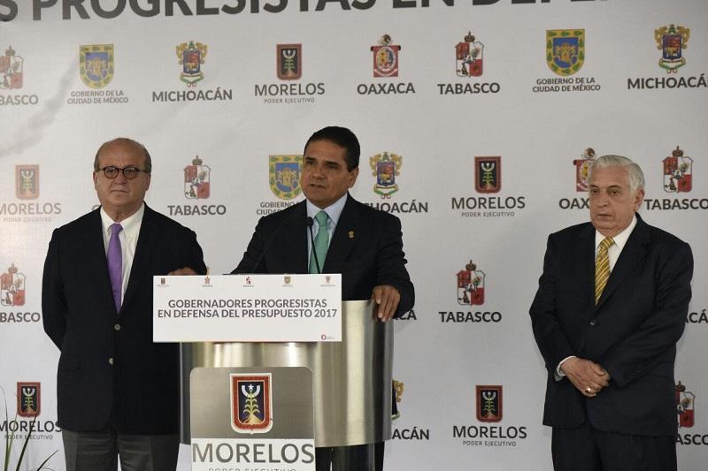 "Urge Aureoles Conejo a revisar la Ley de Coordinación Fiscal; ""es inequitativa"", precisó"