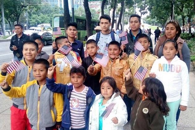 De ellos, 10 niños lo tramitaron por vez primera y tres renovaron este documento que los identifica como ciudadanos del vecino país
