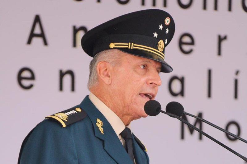 Cienfuegos Cepeda exhortó a defender los ideales de Morelos