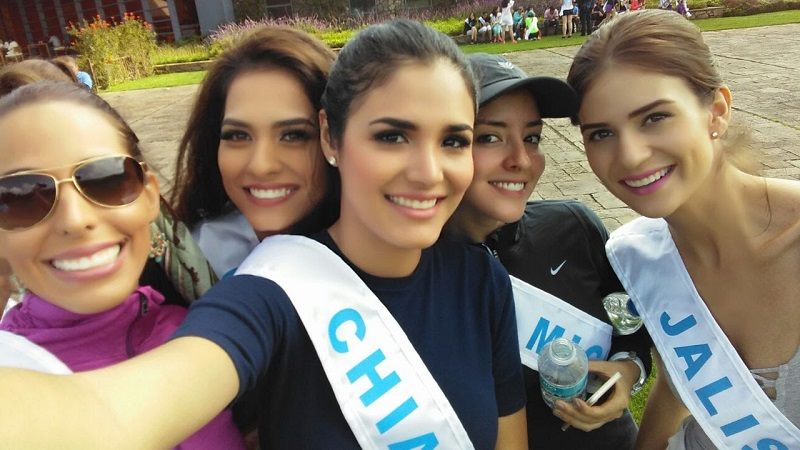 Las jóvenes de las entidades de la República que participan en este evento, disfrutan de Michoacán mientras se preparan para la final
