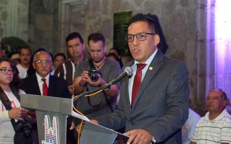 El regidor moreliano reconoció el respeto que ha manifestado el presidente municipal de Morelia, Alfonso Martínez, a los regidores de oposición.