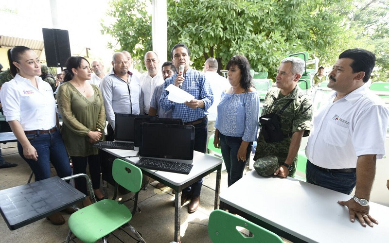 El mandatario estatal reiteró que continuará acudiendo a Pinzándaro hasta que concluya su administración