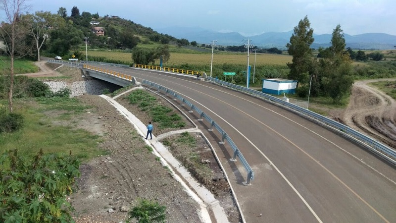"""""""Actualmente, es una vía segura y ágil que ya fue puesta en operación"""", informó el titular de la Junta de Caminos"""