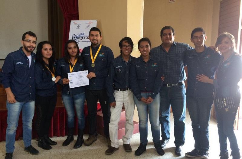 Con el proyecto I'MAFORO obtuvieron medalla de oro, lo que les dio el paso directo al evento internacional que se llevará a cabo en Brasil en agosto de 2017