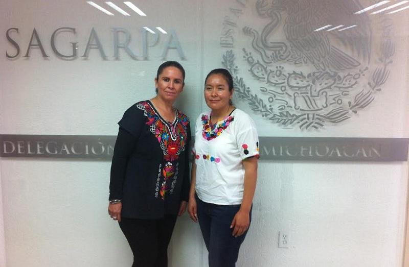 Rodríguez López dijo que esta oportunidad es una muestra del compromiso de la SAGARPA por fortalecer el papel de las mujeres en el campo michoacano y del país entero