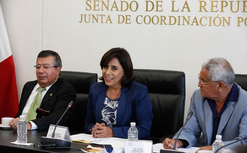 """Calderón Hinojosa participó en el foro """"Jornada de información y reflexión sobre las Directrices Voluntarias en Tenencia de la Tierra para el contexto mexicano, en las áreas específicas de género y solución de conflictos"""""""