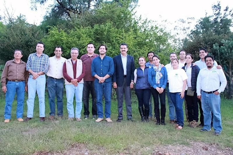 Ricardo Luna, titular de la SEMARNACC, expuso que para hacer posible este corredor se deberán reforestar polígonos donde se identifique detrimento de los bosques