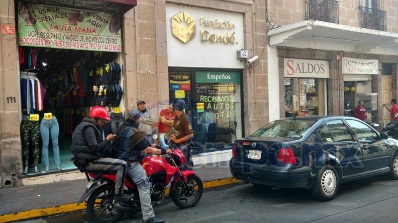 Las alarmas comenzaron a sonar a las 3:00 horas de este viernes; al lugar arribó la Gendarmería Nacional (FOTO: FRANCISCO ALBERTO SOTOMAYOR)