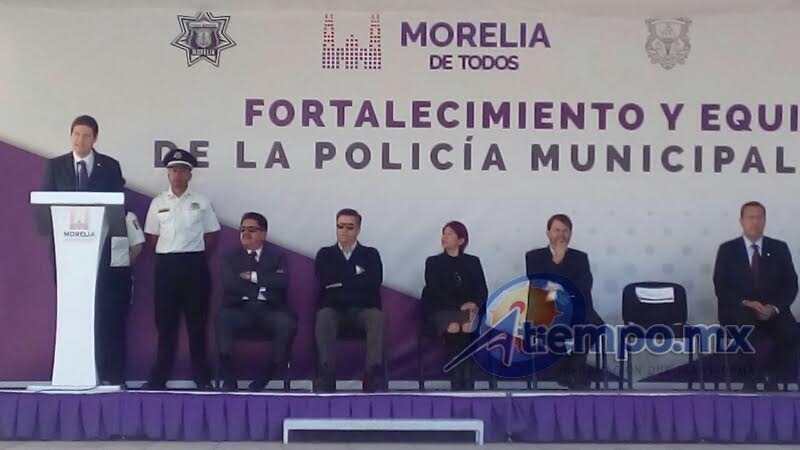 Asimismo, adelantó que este año se erogarán 19 millones de pesos del Programa Nacional de Prevención del Delito para la capital michoacana