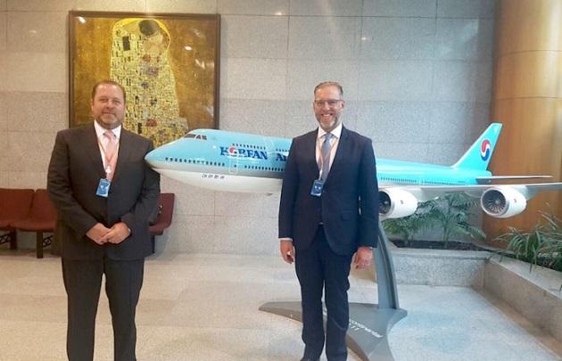 Se estudia la oportunidad de operar un vuelo directo de carga desde Corea al Aeropuerto Intercontinental de Querétaro