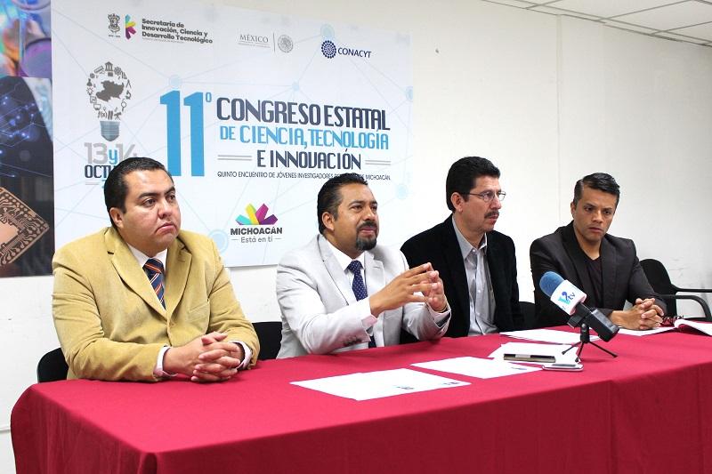Tanto el Congreso como el Encuentro de los Jóvenes tienen por objeto promover la cultura científica y difundir el conocimiento que se genera desde Michoacán para el mundo
