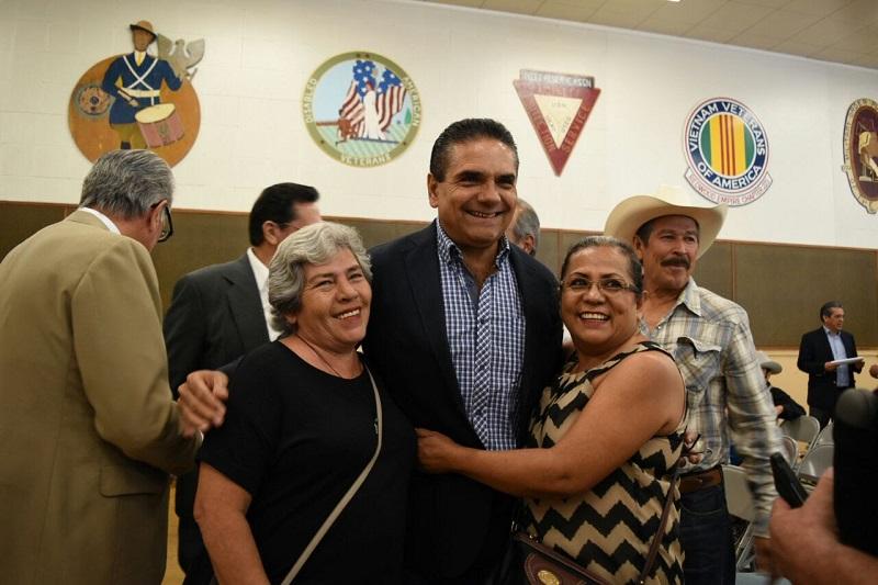 Aureoles Conejo conminó a las y los paisanos a manifestar su orgullo michoacano y defenderlo