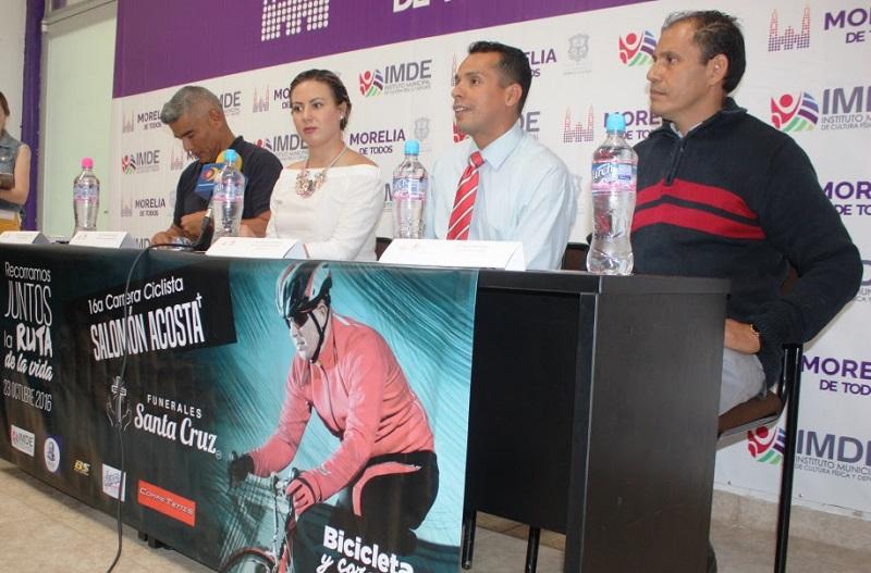 El objetivo del evento es difundir el uso de la bicicleta como medio de transporte en favor de la ecología