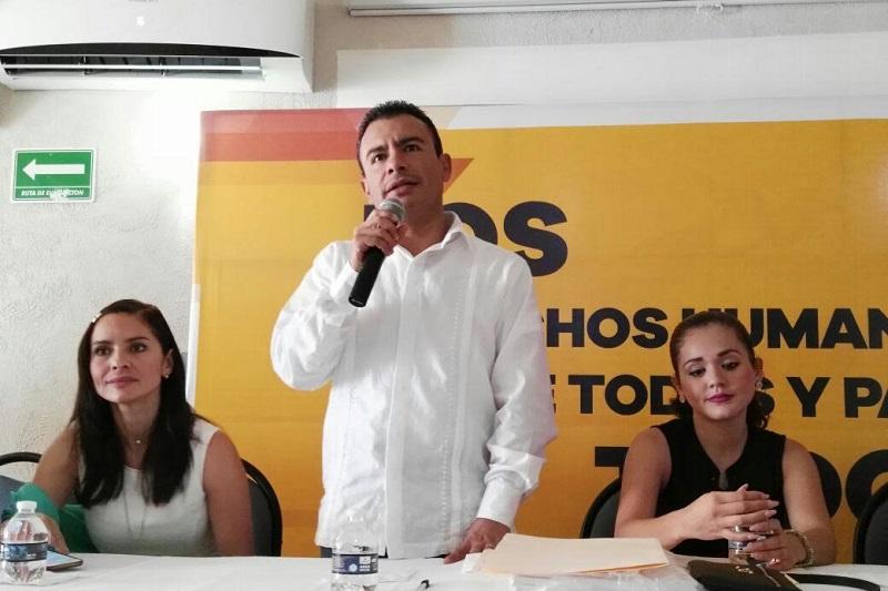 El curso taller dirigido al público en general contó con la presencia de la diputada Nalleli Julieta Pedraza, Presidenta de la Comisión de DH del Congreso del Estado