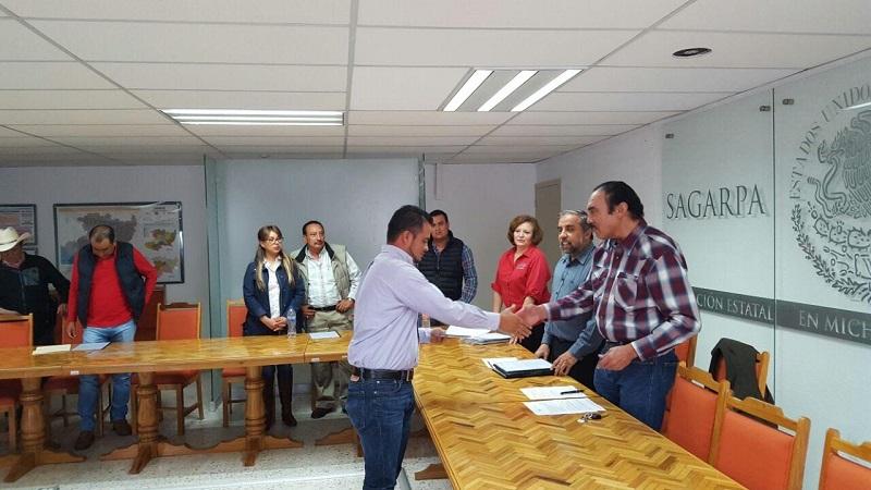 Con este componente, señaló el delegado estatal, Jaime Rodríguez López, la dependencia incentiva a las Unidades Económicas Rurales Agrícolas para el incremento de infraestructura, equipos y servicios de cadena de valor