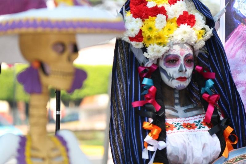 Arte y cultura, vestirán la Feria de la Catrina de Capula; en rueda de prensa fueron anunciados los pormenores de este evento