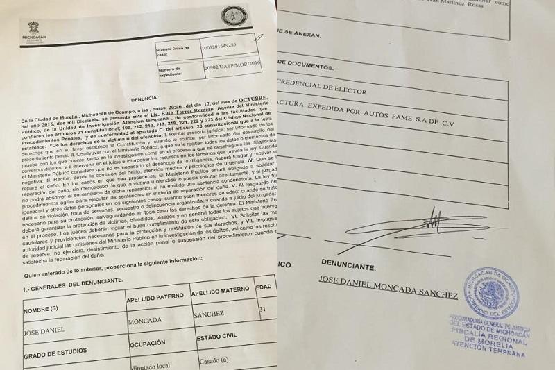 Denunciar pone a trabajar a las autoridades y mide resultados en la materia: Moncada Sánchez