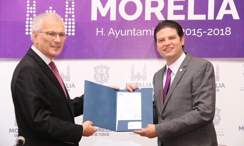 Morelia será coordinadora de las 20 ciudades patrimonio que conjunta la OCPM en la América Central, el Caribe y México