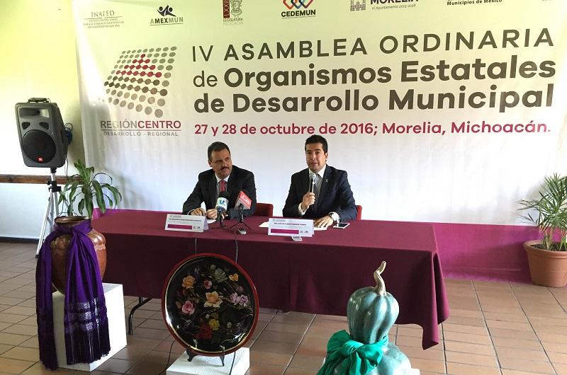 La entidad presentará tres proyectos que son referentes nacionales, como las Comunidades Modelo, destaca el vocal ejecutivo del Cedemun, Carlos Paredes Correa