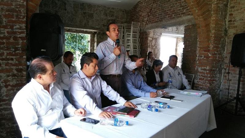 Los encuentros se dieron ante la solicitud de Víctor Montelongo, jefe de la Tenencia Morelos y Wilberth Rosas Monge, jefe de la Tenencia Santa María