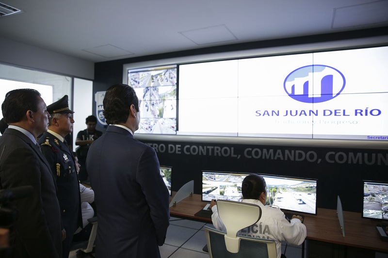 El gobernador señaló un este Centro forma parte de la estrategia integral conjunta de combate y prevención del delito, entre las autoridades federales, estatales y municipales