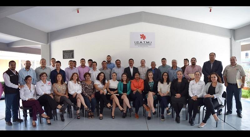 El director general del ICATMI, Israel Tentory García, inició una serie de reuniones con las áreas directivas de la Institución con la finalidad de conocer de primera mano al personal que labora en Dirección General y presentarse con los trabajadores