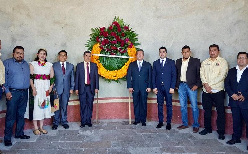 El alcalde Juan Mascote Sesento, recalcó la importancia que ha tenido para Cuitzeo ser reconocido como parte de la cultura hispánica