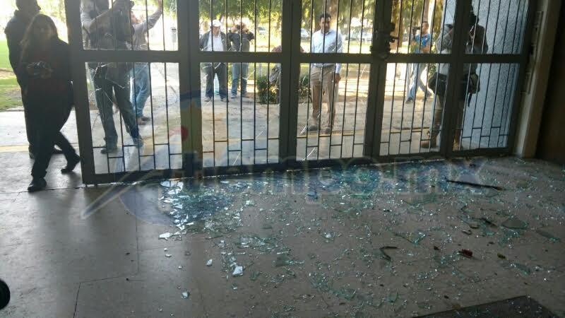 Serna González consideró que en el transcurso del día se irán reanudando las actividades en la Universidad Michoacana (FOTOS: FRANCISCO ALBERTO SOTOMAYOR)