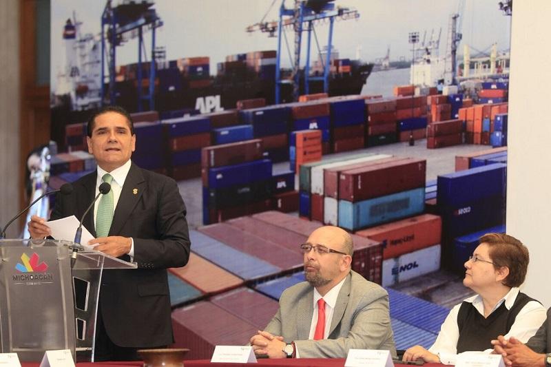 Michoacán está tomando la ruta de la estabilidad y la confianza, destaca el gobernador Silvano Aureoles