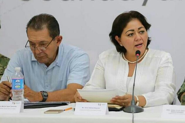 la titular de la Secoem destacó la visión, compromiso y empuje de Aureoles Conejo para promover el crecimiento y el desarrollo de Michoacán