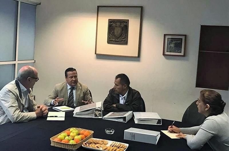 Martín García Avilés se reúne con legisladores federales para presentarles una serie de proyectos y gestionar recursos para concretarlos