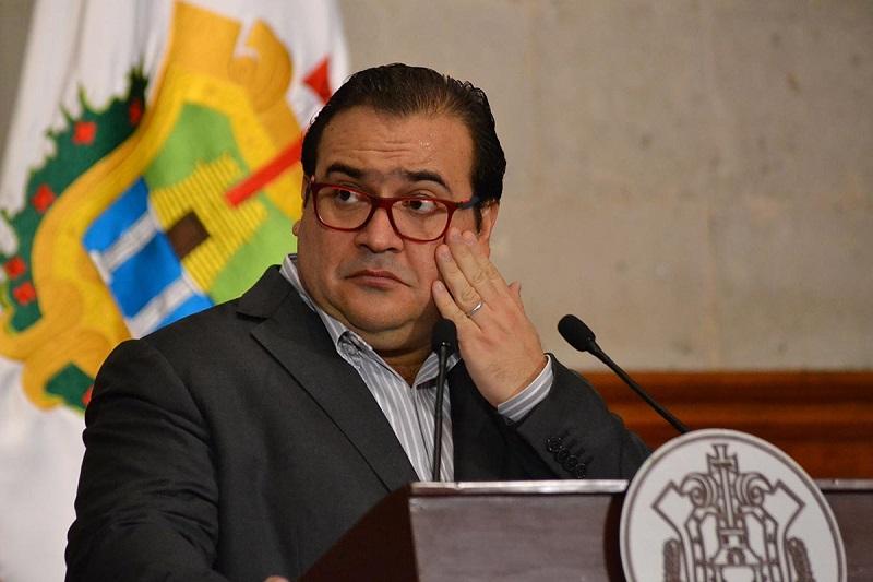La PGR agregó que hay dos carpetas de Investigación de Javier Duarte de Ochoa, y toda una red de presuntos implicados