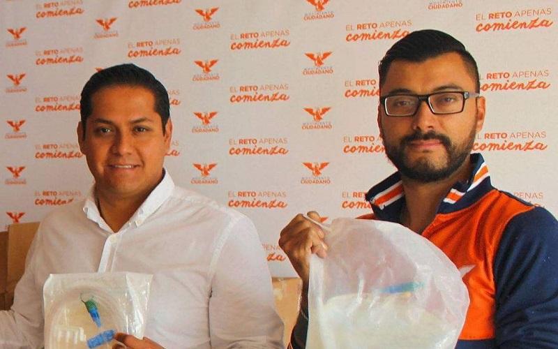Adán Pérez González pidió al coordinador estatal de Movimiento Ciudadano, Daniel Moncada, que se haga responsable de los señalamientos en su contra, o de lo contrario los desmienta