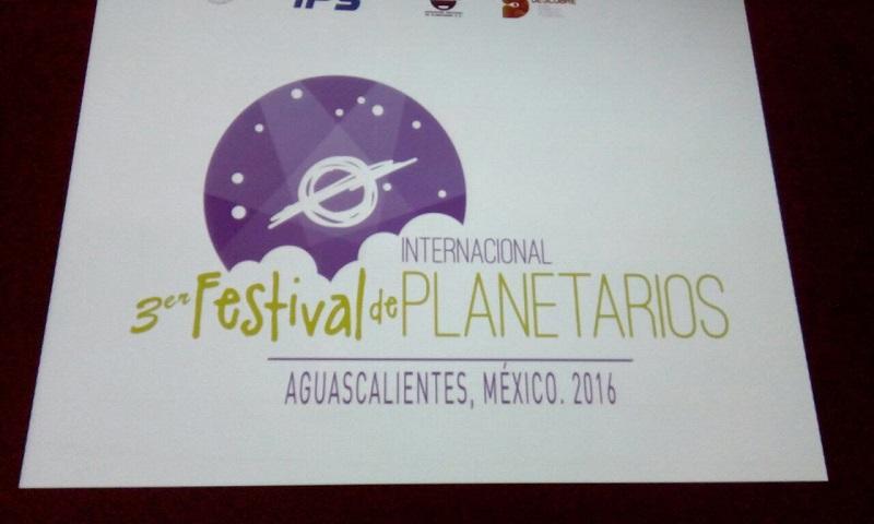 Personal del recinto participa en el III Festival Internacional de Planetarios