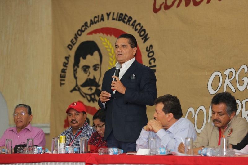 Aureoles Conejo manifestó que desde el inicio de su administración se han puesto en marcha modelos de participación ciudadana, como es el caso de las Comunidades Modelo, para sacar adelante localidades que no eran escuchadas por las autoridades