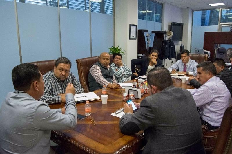 Durante la reunión los alcaldes reafirmaron su compromiso para trabajar en coordinación con la Secretaría de Seguridad Pública a favor de la población