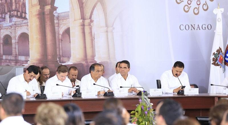 Asiste Aureoles Conejo a la LI Reunión Ordinaria de la Conferencia Nacional de Gobernadores en Huatulco, Oaxaca