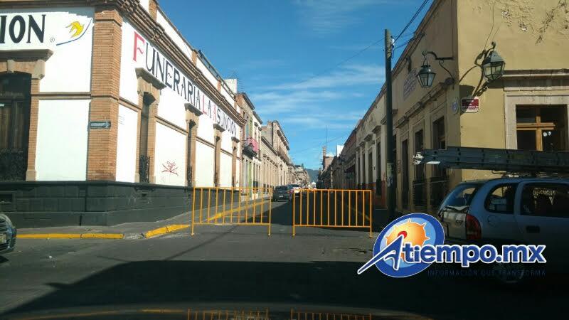 El perímetro de seguridad quedará completamente instalado a partir de las 06:00 horas del día 20 de noviembre, con apoyo de elementos de la Policía Federal División Gendarmería (FOTO: FRANCISCO ALBERTO SOTOMAYOR)