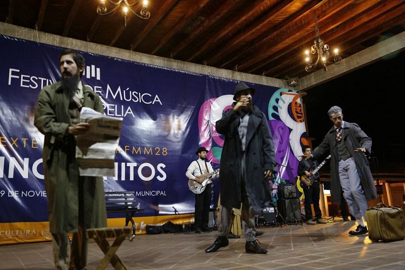 Esto, como parte de las extensiones del Festival de Música de Morelia.